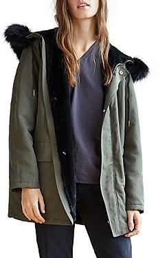 Velvet by Graham & Spencer Tiffany Faux Fur Lined Parka