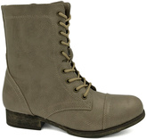 Bamboo Stone Surprise Lace-Up Boot