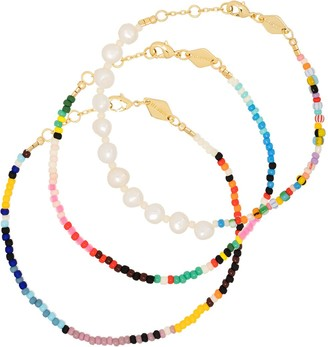 Anni Lu Baja and Alaia beaded bracelet set