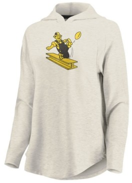 Majestic Women's Pittsburgh Steelers French Terry Pullover
