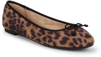 Sam Edelman Charlotte Leopard Ballet Flats