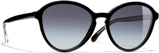 Chanel Pantos Sunglasses CH5403 Black/Grey Gradient