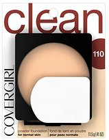 Cover Girl Clean Powder Foundation Classic Ivory .41 oz. (11.5 g)