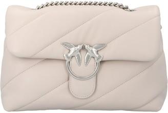 Pinko Love Classic Puff Maxi Crossbody Bag