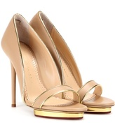 Charlotte Olympia Christine 125 Leather Pumps