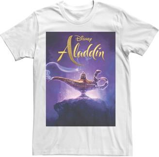 Disney Disney's Aladdin Men's Lamp Poster Graphic Tee