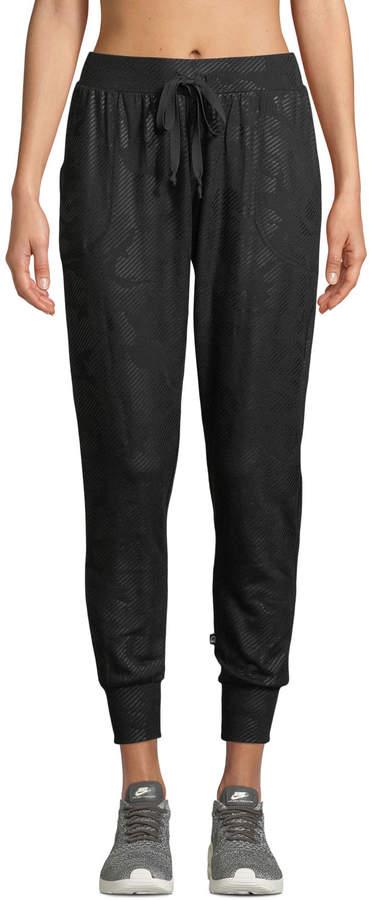 c6ce6439e0 Foil-Printed Camo Jogger Pants