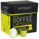Bestpresso 120-Count Arabica Nespresso® Compatible Gourmet Coffee Capsules