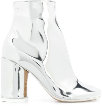 MM6 MAISON MARGIELA 6-Heel Leather Boots