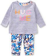 Joules Baby Girls Newborn-12 Months Poppy Striped Hug Me Top & Floral-Printed Pants Set