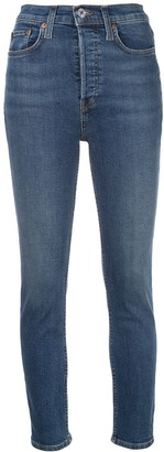 RE/DONE High-Waist Skinny Jeans