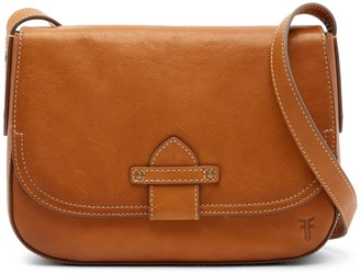 Frye Olivia Leather Crossbody Bag
