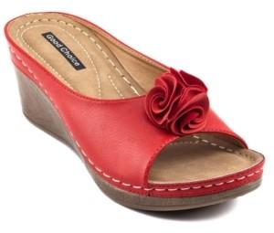 GC Shoes Sydney Wedge Sandal Women's Shoes