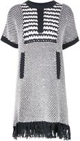 Thakoon textured knit tunic - women - Cotton/Polyimide - XS