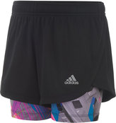 adidas Marathon Mesh Shorts, Toddler & Little Girls (2T-6X)