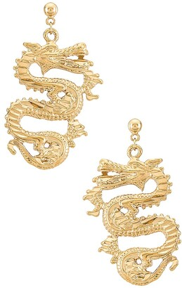 Vanessa Mooney The Ophelia Dragon Earrings