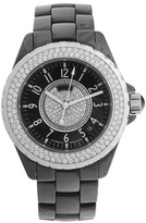 Chanel J12 H1709 Black Ceramic and Stainless Steel Automatic 38mm Watch