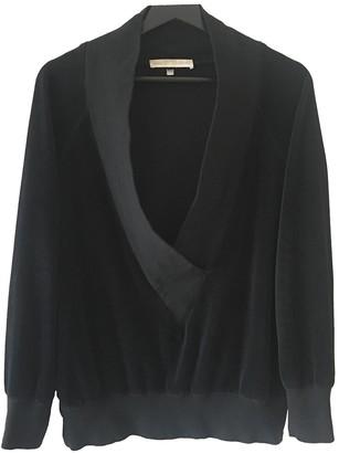 Veronique Branquinho Black Cotton Knitwear for Women Vintage
