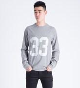 Wood Wood Light Grey Melange Gerrit L/S T-Shirt