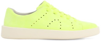 Camper Lime Leather Sneakers