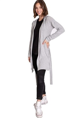PJ Salvage Peachy PJ Duster - Grey, MEDIUM