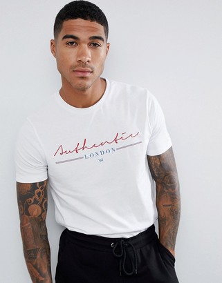 Asos DESIGN t-shirt with authentic London print