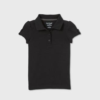Cat & Jack Toddler Girls' Short Sleeve Interlock Uniform Polo Shirt - Cat & JackTM