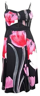 Rachel Roy Women's Strapless Midi Tulip Dress