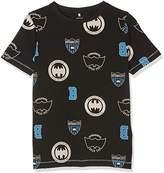 Name It Boys' Nitbatman Ib Ss Top Nmt Wab T-Shirt