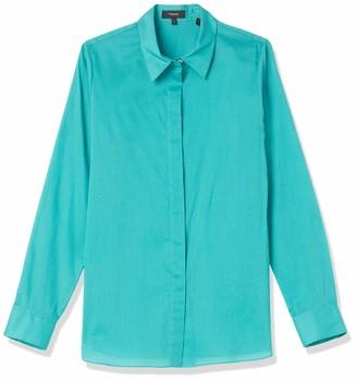Theory Women's Classic Straight Button Down Shirt