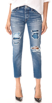 Moussy MV Repair Tapered Jeans