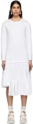 MM6 MAISON MARGIELA White Gathering Dress