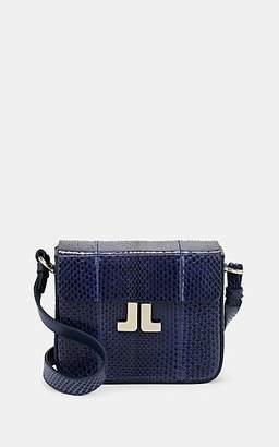 Lanvin Women's JL Snakeskin Crossbody Bag - Blue