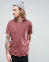 Element Basic Pocket T-shirt In Red Heather
