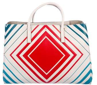Anya Hindmarch Diamonds Maxi Featherweight Ebury Tote