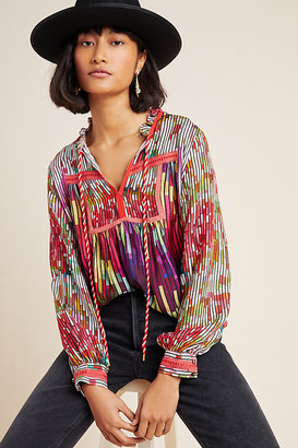 Etienne Peasant Blouse By Conditions Apply in Assorted Size XS