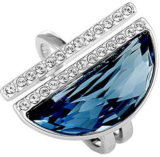 Swarovski Crystal Rhodium Plated Ring