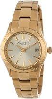 Kenneth Cole New York Women's KC4934 Modern Core Triple Gold Ladies Bracelet Watch