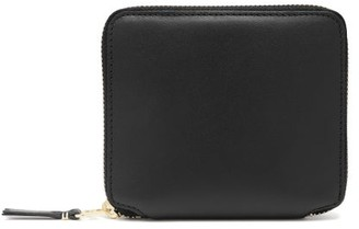 Comme des Garcons Zip-around Leather Wallet - Womens - Black