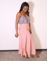 Tysa Wrap Skirt In Nude