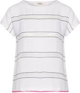 Lemlem Shora striped cotton-blend gauze T-shirt