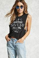 Forever 21 I Solemnly Swear Graphic Tank