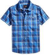 Hurley Men's Road Trip Woven Short Sleeve Shirt