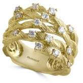 Effy D Oro 14K Yellow Gold and Diamond-Accented Ring