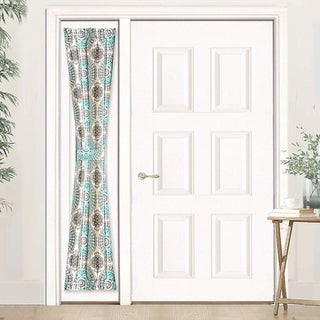 DriftAway Bella Rod Pocket Room Darkening Door Single Curtain Panel