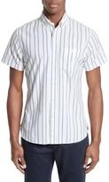 Todd Snyder Men's Trim Fit Stripe Sport Shirt