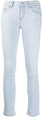 Liu Jo Mid-Rise Cropped Skinny Jeans