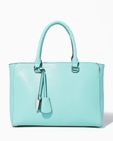 Charming charlie Lincoln Pebbled Satchel