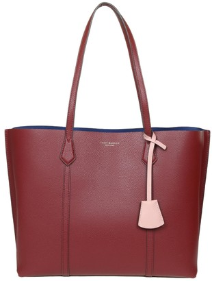 Tory Burch Shopping Perry In Wine Color Leather