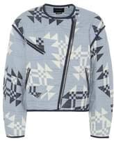 Isabel Marant Lazel quilted cotton jacket